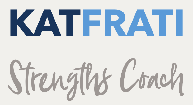 Kat Frati — Strengths Coach Logo